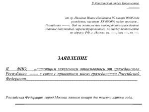 Декларация на недвижимость бланк