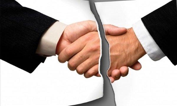 Расторжение договора