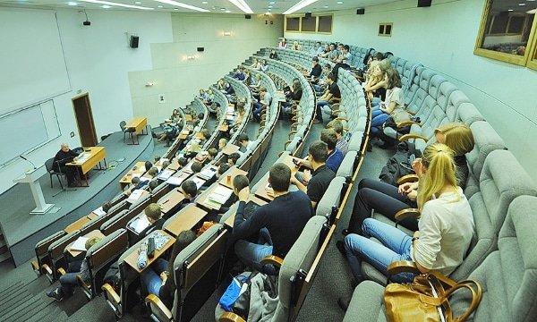 Проведение лекции в вузе
