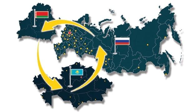 Карта переселения в Россию
