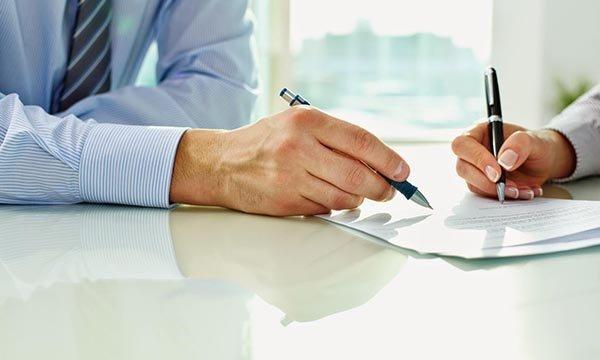 Подписание международного договора
